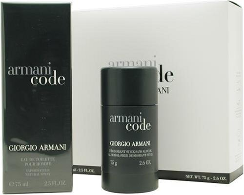 Armani Code By Giorgio Armani For Men Set