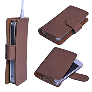 DSR Pu Leather case cover for Celkon A35K Remote