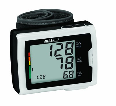 Image of Digital Blood Pressure Wrist Monitor with Flashing WHO Indicator (B003WL4ZG4)
