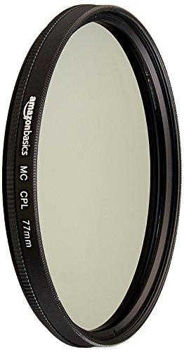 AmazonBasics Filtre polarisant circulaire - 77mm