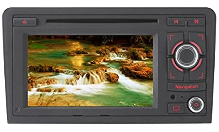 "Phonocar VM090 Audi Media TFT-LCD Station Navigation DVD Receiver panel 7"""