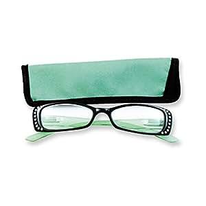 green rhinestone 2 75 magnification reading
