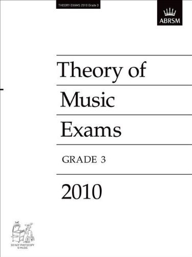Theory of Music Exams 2010, Grade 3 (Theory of Music Exam Papers & Answers (Abrsm)), Buch