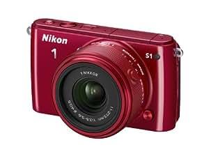 """Nikon Coolpix S1 Appareil photo numérique compact 10,1 Mpix Ecran 3"""" Zoom optique 3x Rouge"""