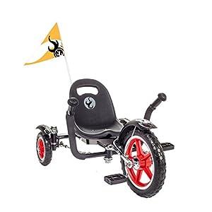 Mobo Tri-705BK Tot Rockabilly Trike, Black