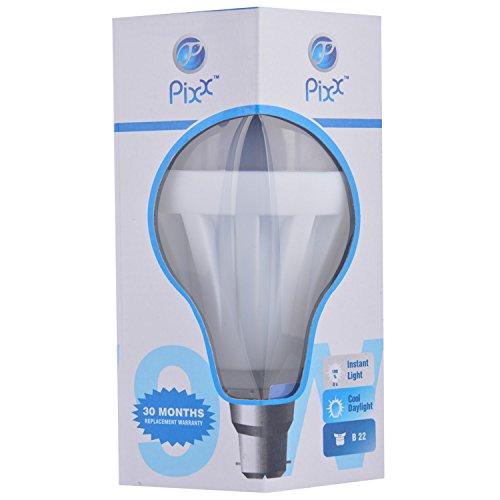 Pixx-9W-Aluminium-LED-Bulb-(White)