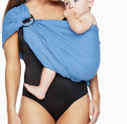 Summer-Adjustable-Baby-Wrap-Water-Ring-Sling-Carrier-Infant-Wrap-Toddlers-Perfect-Baby-Shower-Gift-with-Polyester-and-Quickdry-POLYESTER-Fabric-Material-to-Indoor-Outdoor-Travel-Cotton-Comfort-for-New