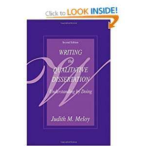 writing the qualitative dissertation understanding by doing Writing the qualitative dissertation: understanding by doing ebook: judith m meloy: amazoncomau: kindle store.