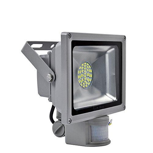 30W Cool White Motion Sensor Floodlight Led Landscape Lamp Smd Pir