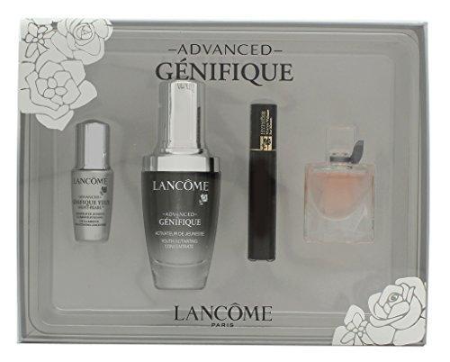 Lancome Genifique Confezione Regalo 30ml Advanced Siero + 4ml La Vie Est Belle EDP + 2ml Hypnôse Mascara + 5ml Génifique Eye Pearl