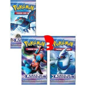 Exclusive Pokemon Trading Cards Call Of Legend Series Black And White Booster Packs Lot Of 3 Toy / Game / Play / Child / Kid
