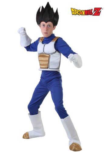 Boys' Dragon Ball Z Vegeta Halloween Costume