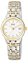 Citizen Ladies Silhouette Sport - Two-Tone - White Textured Dial - Date