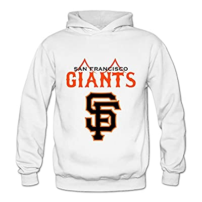 Women's San Francisco Giants MLB Art Hoodies Sweatshirt Size US White