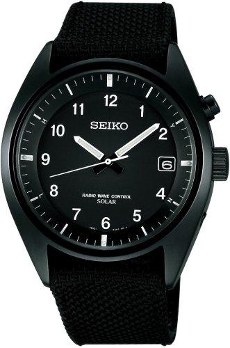 SEIKO (セイコー) 腕時計 SPIRIT スピリット パワーデザインプロジェクト ソーラー電波時計 SBPM003 メンズ