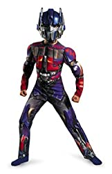 Boys Optimus Prime Transformer Movie Costume Size Small