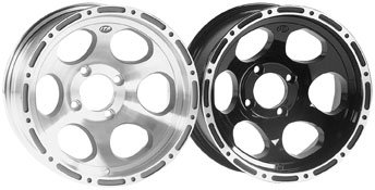 ITP C-Series T7 Beadlock Wheel - 12x7 - 2+5 Offset - Matte Black 1228306536B