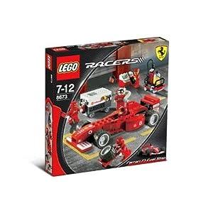 LEGO Racers 8673 Ferrari F1 Fuel Stop