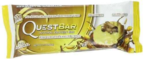Quest Nutrition 6340009 Protein Bars (Chocolate Peanut Butter, Pack of 12)