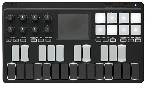 Korg nanoKEY Studio Bluetooth & USB MIDI Keyboard Controller (Studio Controller compare prices)