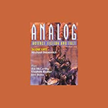 The Best of Analog Science Fiction and Fact Magazine Audiobook by Michael Swanwick, Adam-Troy Castro, Jerry Oltion, Stephen Baxter, Pat Forde Narrated by Stefan Rudnicki, Gabrielle de Cuir, Amanda Karr