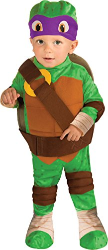 Nickelodeon Ninja Turtles Donatello Romper Shell and Headpiece, Green, Infant (Girls Ninja Turtle Costume compare prices)