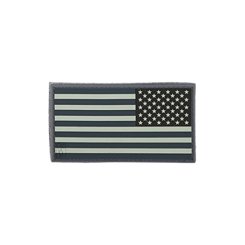 Reverse USA Flag Patch - Small