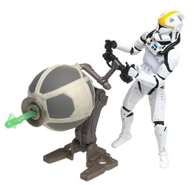 Clone Trooper Republic Gunship Pilot Star Wars Attack Of The Clones 375 Action Figure by Hasbro