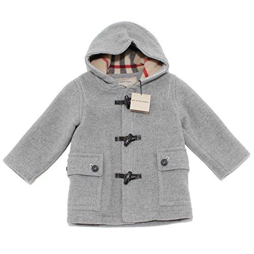 6779F montgomery cappotto BURBERRY CHECK LANA giacca bimbo jacket kids [12 MONTHS]