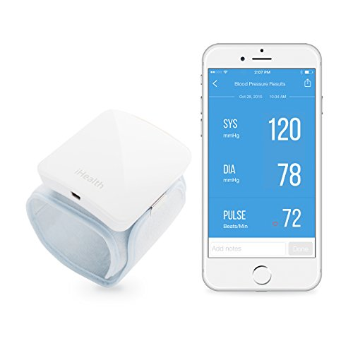 Sfigmomanometro iHealth wireless da polso BP7