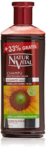 CHAMPU COLOR caoba 300+100 ml