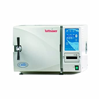 Heidolph Tuttnauer Autoclave Sterilizer Electronic Model with Stainless Steel Trays