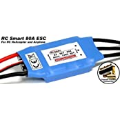 Rc Model Airplane / Helicopter 80 A Brushless Motor Speed Controller Esc Sl022 With Rcecho Full Version Apps Edition