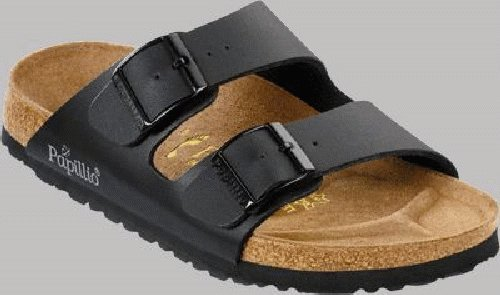 Buy Low Price Papillio slippers Arizona from Birko-Flor in Denim Brown Jeans with a narrow insole (B004YHJBUU)