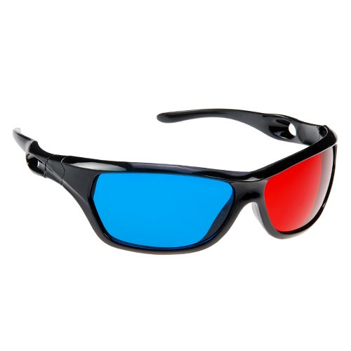 GTMax 3D Red/Cyan Glasses for watching 3D Movies