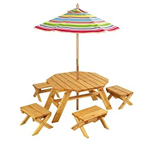 Kid Kraft Outdoor Table Set by Homevisions