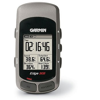 Garmin Edge 305 Navigation and Trip Computer for Cycles with Heart Rate Monitor