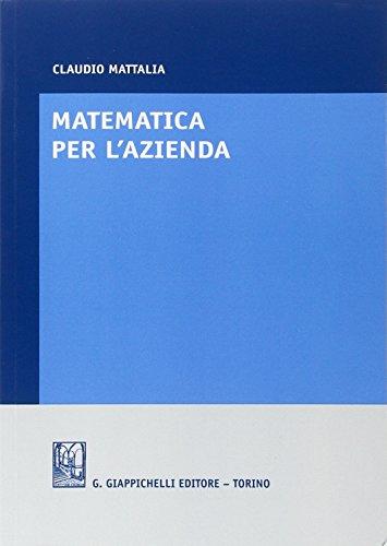 Matematica per l'azienda PDF