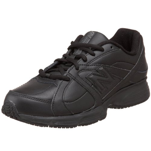 New Balance Women's WW512 Walking Service Shoe,Black,9 B US