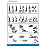 BOSU Übungsposter BOSU Balance Trainer Onesize
