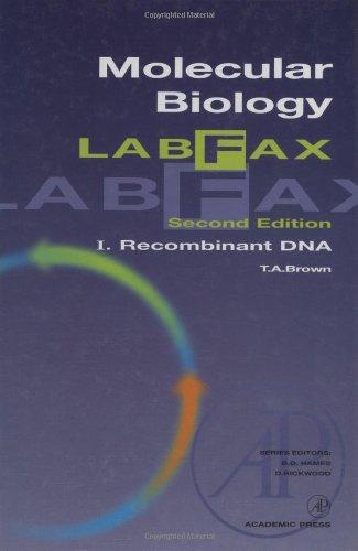 Molecular Biology Labfax: Recombinant DNA