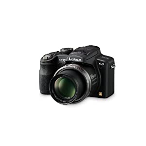 Panasonic Lumix DMC-FZ35 12.1MP Digital Camera with 18x POWER Optical Image Stabilized Zoom and 2.7 inch LCD