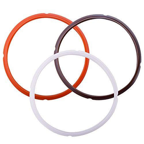 Netany Colorful Instant Pot Silicone Sealing Ring, Sweet and Savory Edition, Pack of 3