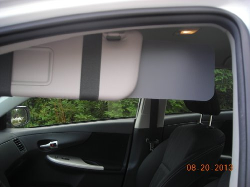 1 Pair Visormates - Side Window Sun Visor Extenders To Fit Certain Toyota Cars (Not Tundra) front-447396