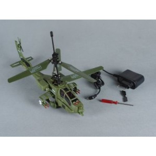 Double Horse AH-64 Apache 3.5CH GYRO Electric RTF RC Helicopter