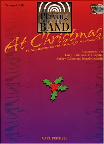 Playing with the Band At Christmas: Trumpet in Bb (Book/CD)