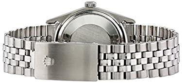 Rolex Men's 'Datejust' Swiss Automatic and Jubilee Watch, Color:Stainless Steel (Model: 760-MH212561F1)