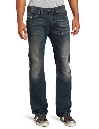 Diesel Men's Safado Slim Straight-Leg Jean 0804Z, Denim, 34x34