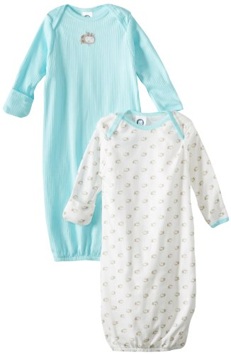 Gerber Unisex Baby 2 Pack Gowns