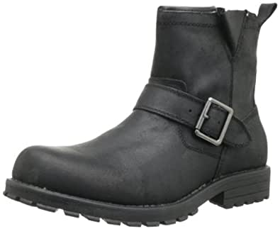 Amazon.com: Skechers USA Men's Mid Top With Buckle Strap